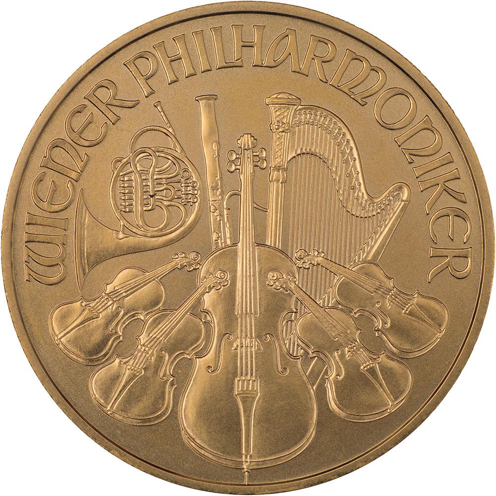 Złoty Wiedeński Filharmonik (1 oz.) – 1 uncja złota moneta