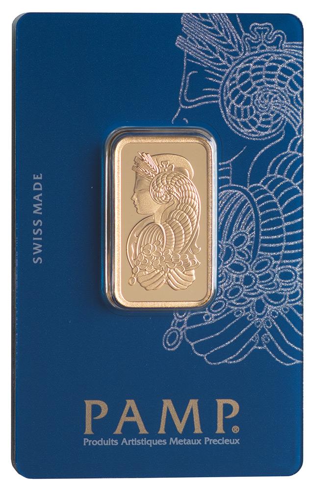 Złota sztabka PAMP Fortuna (20 g)